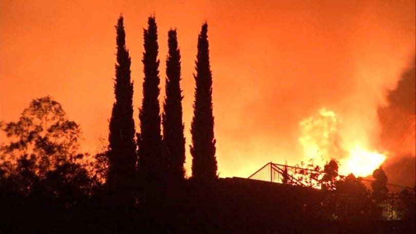 Požari u Kaliforniji: požari koji pogađaju turističke destinacije od Big Sura do Santa Cruza do okruga Napa i Sonoma