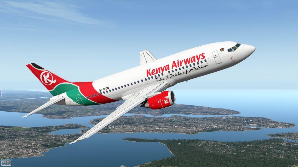 Kenya Airways menolak masuk ke langit Tanzania
