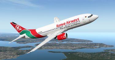 Kenya Airways kielsi pääsyn Tansanian taivaalle