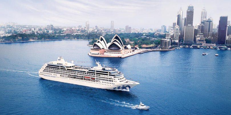 Princess Cruises dia nanambara ny fanitarana ny fiatoana amin'ny asa any Aostralia
