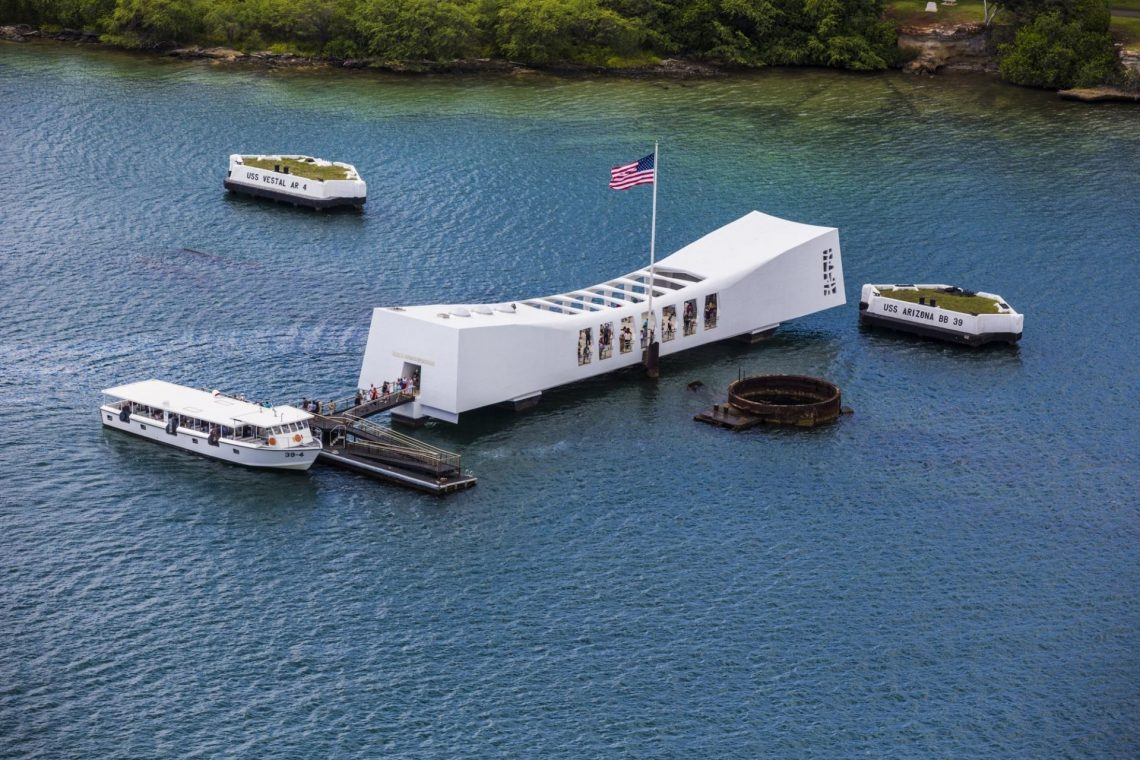 Pearl Harbor National Memorial closing in accordance with Hawaii Governor's Emergency Order