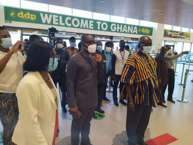 Kotoka International Airport: PCR test required for all new arrivals