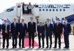 Delegacioni SHBA-Izraelit merr fluturimin e parë të drejtpërdrejtë nga Izraeli në Emiratet e Bashkuara Arabe