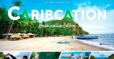"""Shën Lucia mirëpret vizitorët e Karaibeve përmes fushatës """"Bubblecation"""""""
