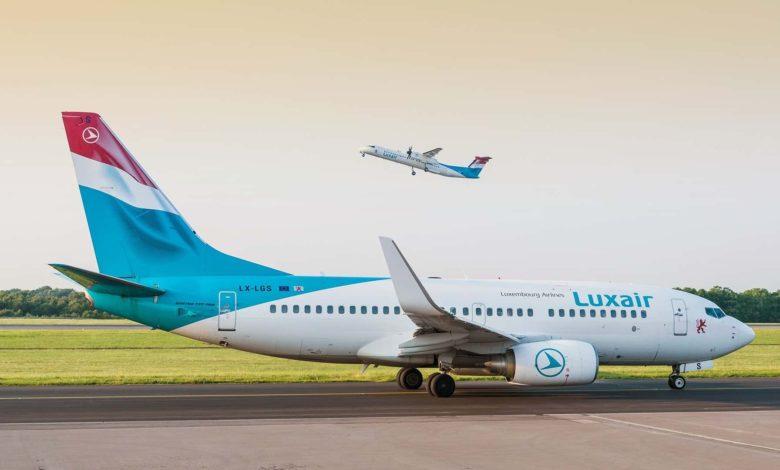 Luxair dia mandefa sidina Luxembourg avy amin'ny seranam-piaramanidina Budapest