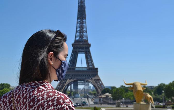 اکنون ماسک صورت در همه نقاط گردشگری پاریس اجباری است