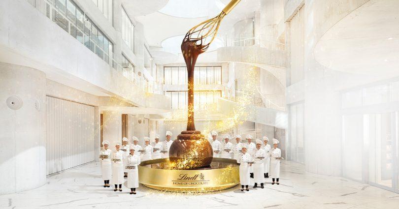 チューリッヒにバケツリストチョコレートの目的地がオープン