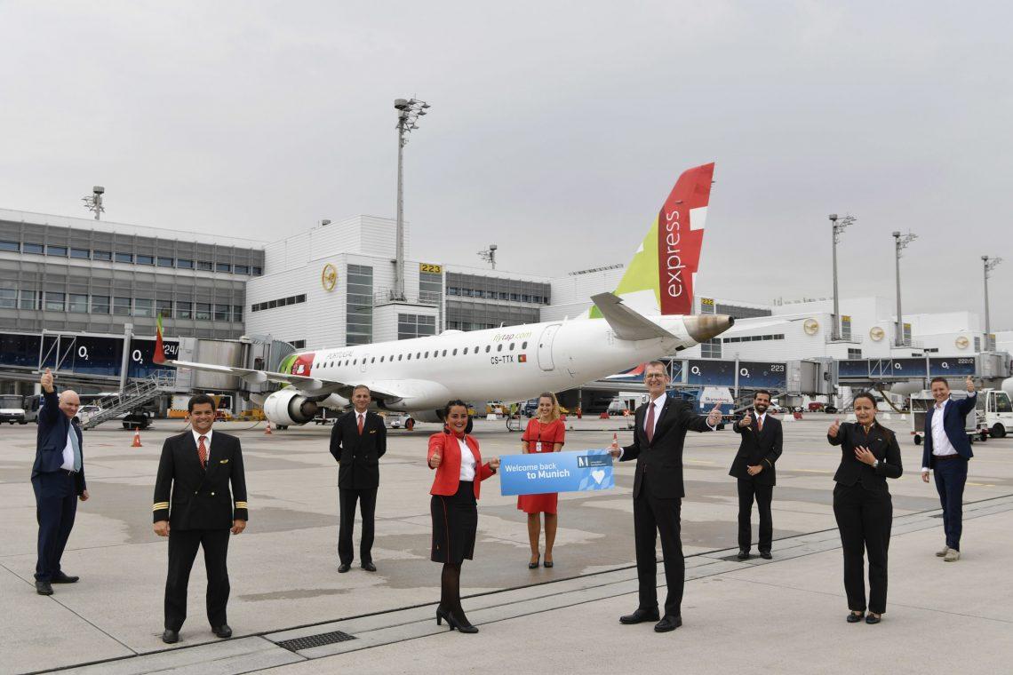 Η TAP Air Portugal συνεχίζει πτήσεις από το Μόναχο προς τη Λισαβόνα δύο φορές την ημέρα