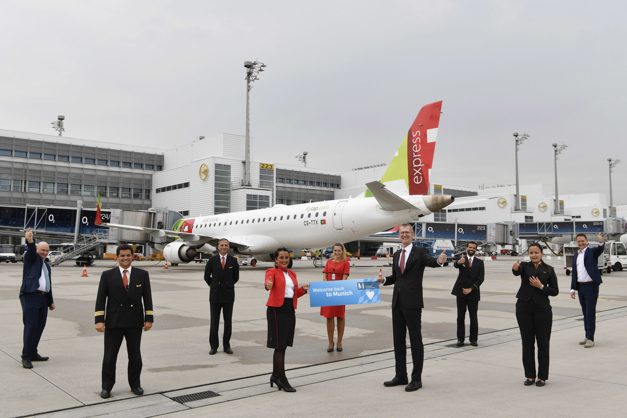 TAP Air Portugal resumes flights from Munich to Lisbon