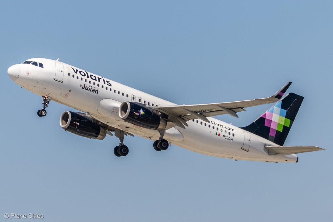 Volaris lança novo serviço sem escalas de San Jose para a Cidade do México