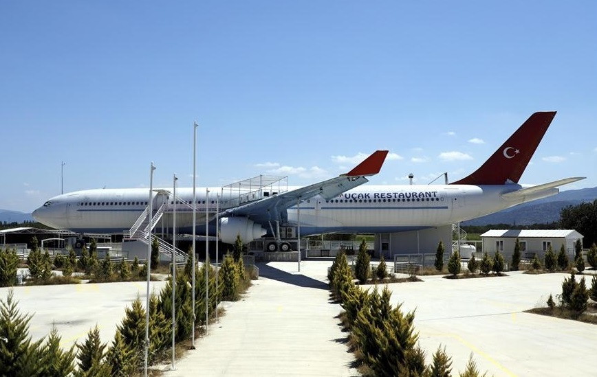Airbus converted into Turkey's largest restaurant up for sale for $1.44 million
