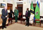 Ο νέος πρεσβευτής των ΗΠΑ στην Τανζανία ξεκινά επιτέλους το Tour of Duty