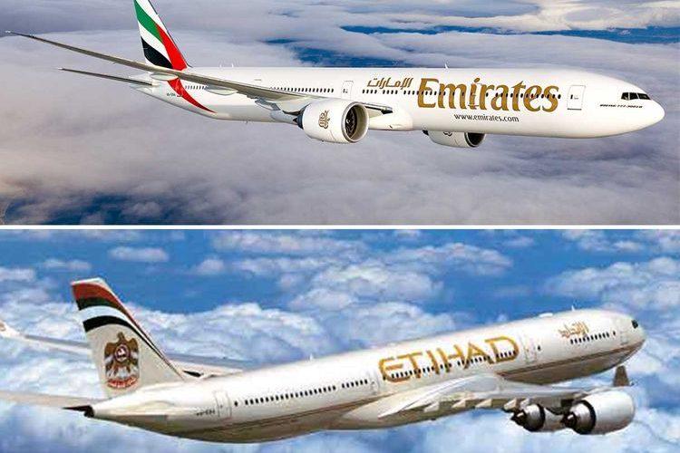 Sem escalas para Tel Aviv saindo de Dubai pela Emirates, de Abu Dhabi pela Etihad deixa a Turkish Airlines nervosa