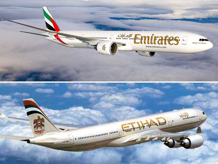 Non-stop to Tel Aviv from Dubai on Emirates, from Abu Dhabi on Etihad makes Turkish Airlines nervous