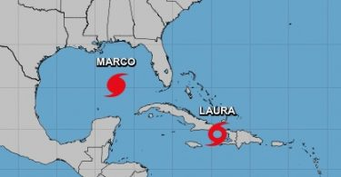 Louisiana erklærer nødsituation foran to kraftige storme