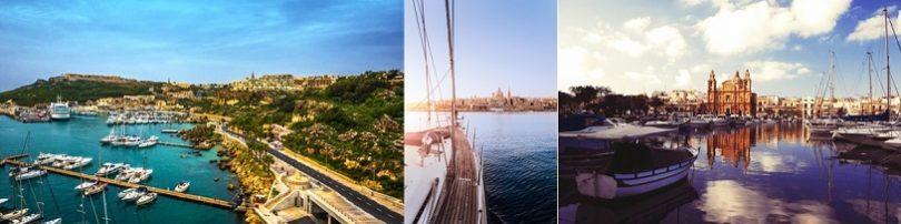 Explorando Malta em um Iate Privado