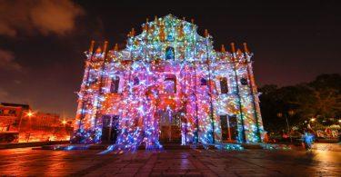 פסטיבל האור של מקאו 2020 יימשך למרות מגיפת COVID-19