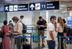 O primeiro aeroporto de Fiumicino de Roma no mundo a receber 'Classificação 19 estrelas COVID-5'