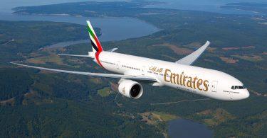 Emirates аднаўляе рэйсы ў Луанду з 1 кастрычніка