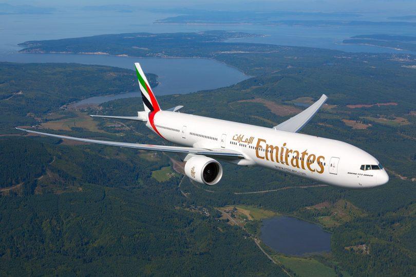Emirates rekomencas flugojn al Luando de la 1a de oktobro