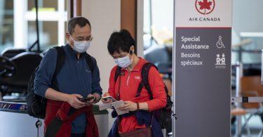 Air Canada ofrece seguro COVID-19 gratuito a viajeros internacionales