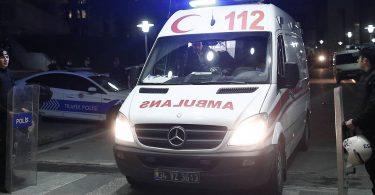 11 گردشگر روس در تصادف اتوبوس تور ترکیه مجروح شدند