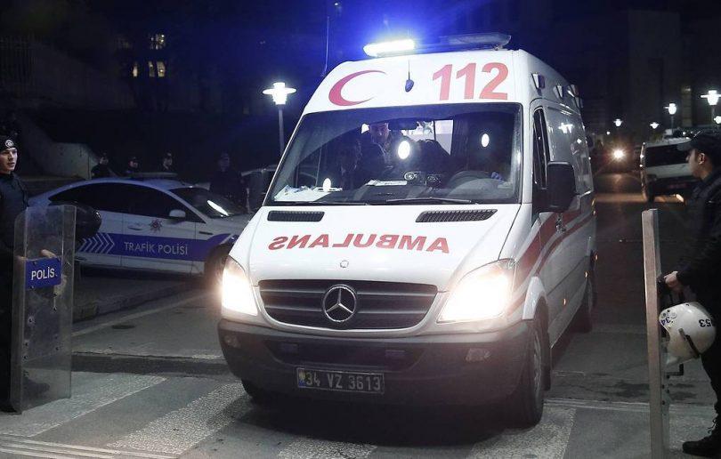 11 russische Touristen bei Absturz des türkischen Tourbusses verletzt
