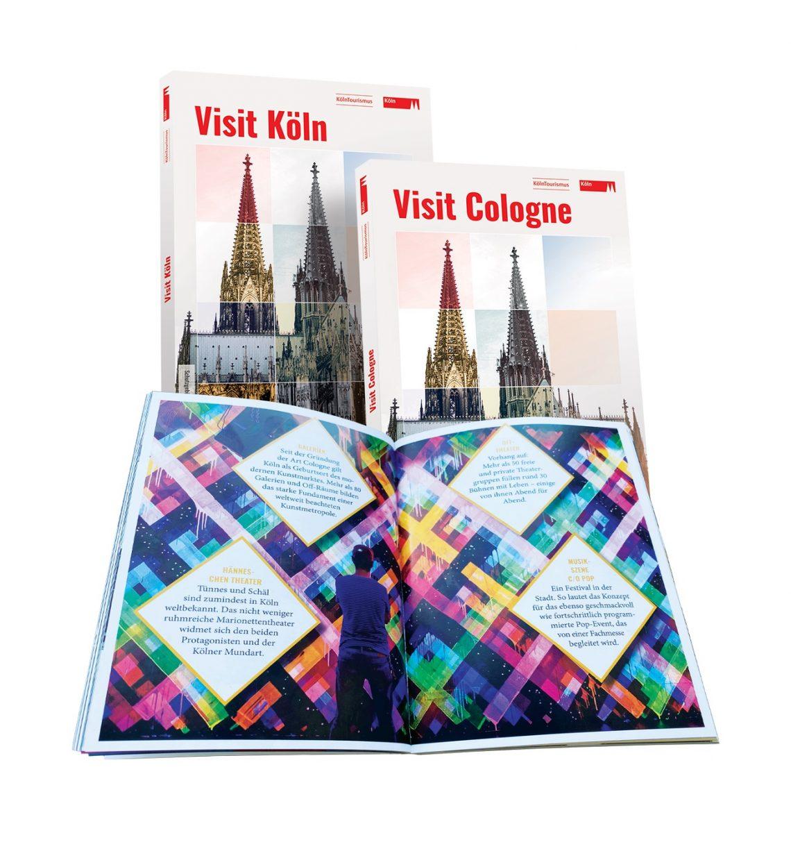 Кельн туристік кеңесі Visit Cologne туралы жаңа нұсқаулық шығарды