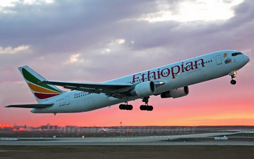 Ethiopian Airlines retoma voo para Victoria Falls