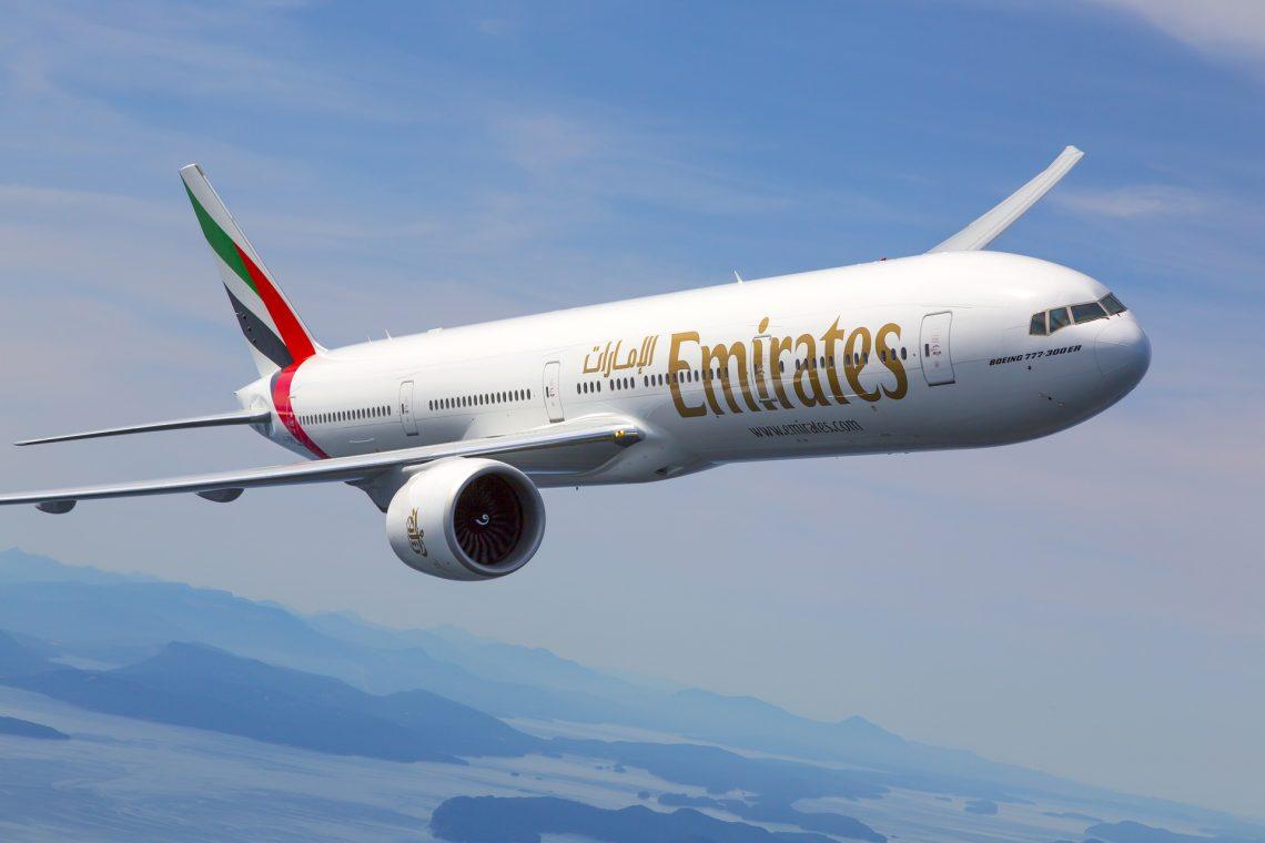 Emirates retoma voos para Joanesburgo, Cidade do Cabo, Durban, Harare e Maurício