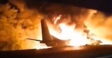 At least 25 people killed in Ukraine plane crash