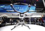 Chinese electric carmaker exhibits flying car prototype at Beijing auto show