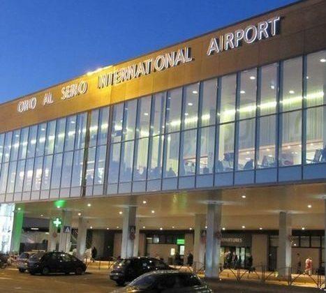 Milanon Bergamon lentokenttä jatkaa etenemistä