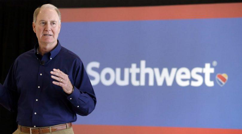 Southwest Airlines forpligtede sig til at øge mangfoldigheden i lederskab