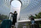 Singapur relaxa as restricións fronteirizas, permite aos visitantes de Nova Zelandia e Brunei entrar