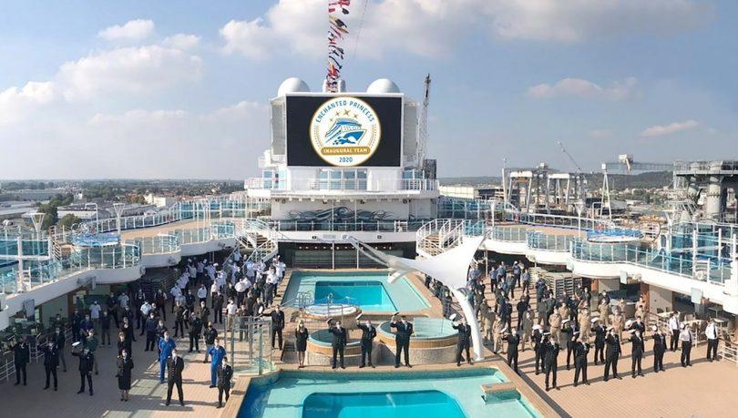 Enchanted Princess joins Princess Cruises fleet