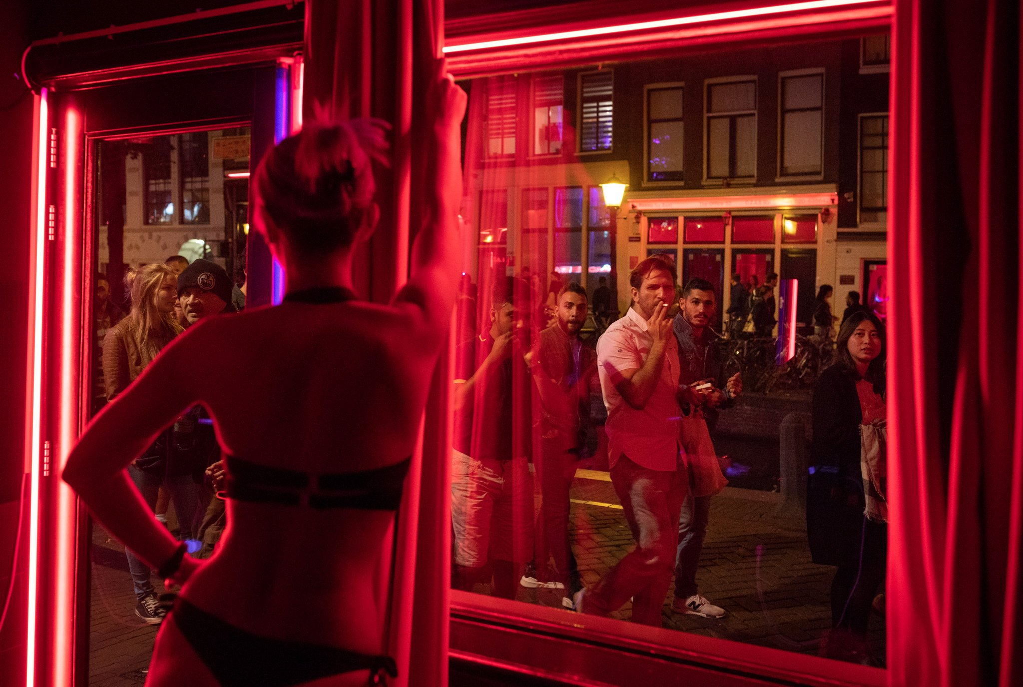 Amsterdam's Red Light District may soon become a thing of the past