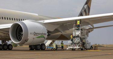 Boeing y Etihad Airways elevan el combustible de aviación sostenible al siguiente nivel