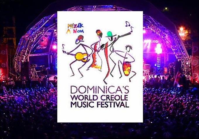 Dominiko nuligas 2020 Mondan Kreolan Muzikan Festivalon