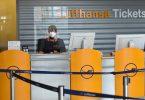 Lufthansa: € 2.7 biliwn mewn ad-daliadau tocynnau a dalwyd eisoes