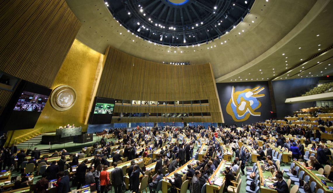 FN Algemiene Gearkomst freget om wrâldwide gearwurking oer COVID-19