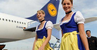 Let Lufthansa Trachtencrew letos opět startuje