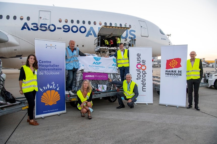 Airbus Foundation leveret humanitêre help oan Beirut