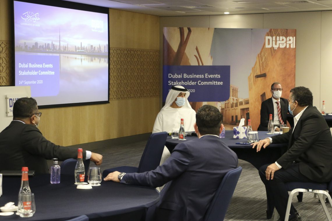 दुबई बैठक उद्योग फिर से शुरू हो जाता है