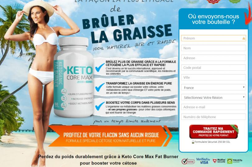 Avis sur Keto Core Max - Lisez les avantages et les ingrédients des pilules Keto Core Max!
