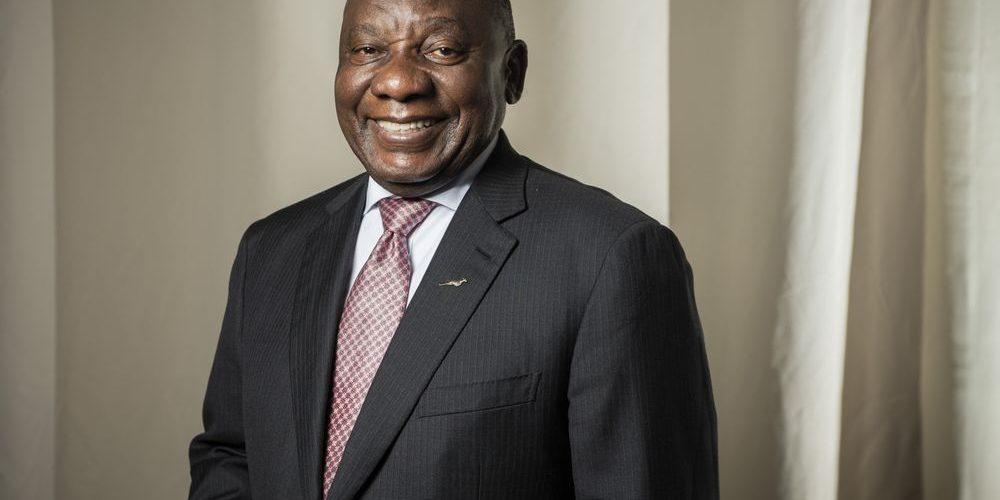 جنوبی افریقہ کے صدر رامافوسہ COVID0-19 پر اپ ڈیٹ کر رہے ہیں