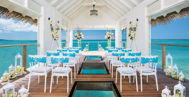 "Sandals Resorts Wedding: ""Virtually Perfect"" Solutions"