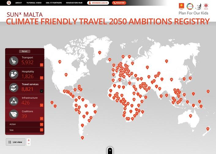 SUNx Malta Launches Climate Friendly Travel Registry