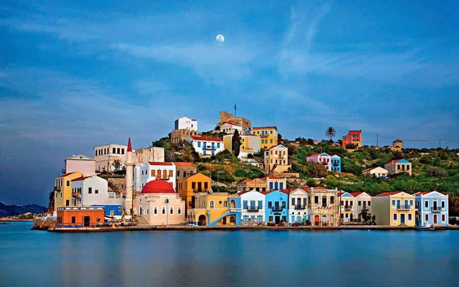 هروب السائحين ، ولكن ليس فقط COVID-19 في هذه الجزيرة اليونانية