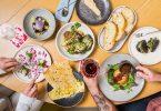 호주와 홍콩의 오볼로 호텔에서 채식